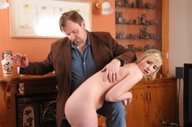 A corrective paddling spanking 6