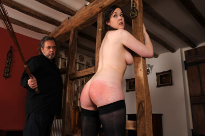 Hairbrush and Razor Strop Strict Wives