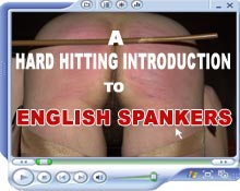 Sample video from English Spankers