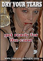 Some of our best caning pictures as naughty young girls touch their toes and count the strokes